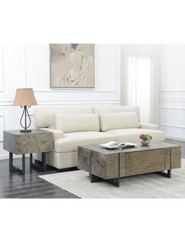 Picket House Furnishings Laguna Walnut Finish Rectangle Coffee Table With Storage by Generic