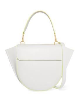 Hortensia Medium Neon Trimmed Leather Shoulder Bag by Wandler