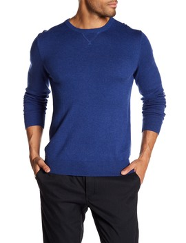 Classic Crew Neck Sweater by Wallin & Bros