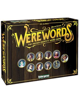 Werewords Deluxe Word Game by Bezier Games
