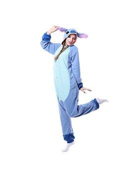 Adults Stitch Onesie Halloween Costumes Animals Sleeping Pajamas by Land Rosy