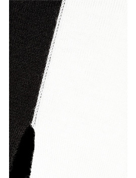 Cutout Striped Merino Wool Maxi Dress by Marques' Almeida