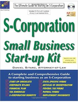 S Corporation: Small Business Start Up Kit by Amazon