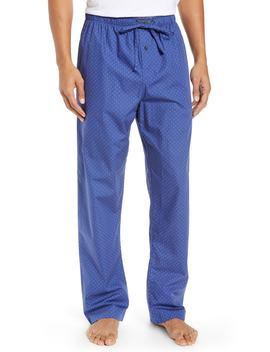 Hex Print Woven Pajama Pants by Ralph Lauren