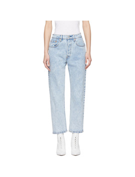 Blue 501 Cropped Jeans by Levi's