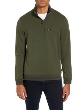 Leevit Quarter Zip Pullover by Ted Baker London