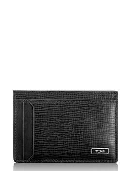 Monaco Leather Money Clip Card Case by Tumi
