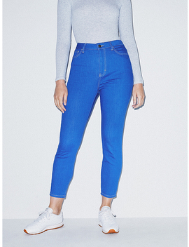The Crop Pencil Jean by American Apparel
