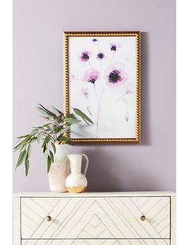 Purple Poppies Wall Art by Artfully Walls