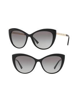 Medusa 57mm Cat Eye Sunglasses by Versace