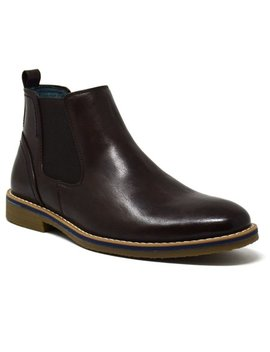 Alpine Swiss Men's Owen Chelsea Boots Pull Up Ankle Boot Genuine Leather Lined by Alpine Swiss