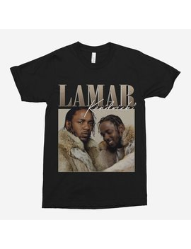 Kendrick Lamar 90s Vintage Black T Shirt by Etsy