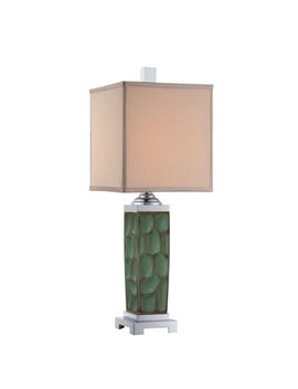 "Quoizel Ckmr1471 T Marina Table Lamp 30""H X 11""W Green Ceramic Finish 1 Light by Quoizel"
