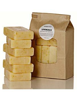 Simplici Lemongrass & Calendula Soap. 6 Bar Bulk Pack. Scented With Lemongrass Pure Essential Oil. Palm Oil Free. 15 Percents Coconut Oil.... by Simplici