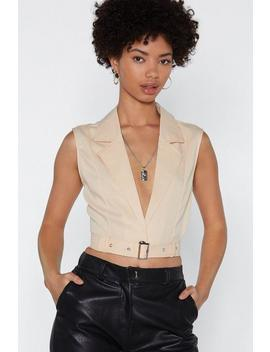 Army Of One Crop Top by Nasty Gal