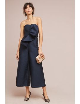 Riella Strapless Jumpsuit by Keepsake