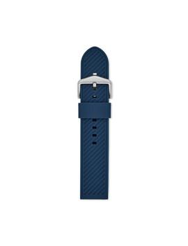Silikonband Für Herrenuhr   22 Mm   Blau by Fossil