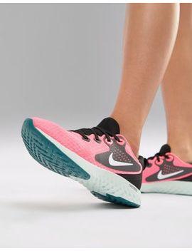 Ярко розовые кроссовки Nike Running Rebel React by Asos