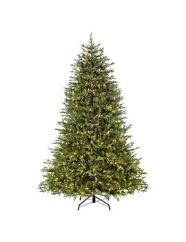 7.5ft Prelit Artificial Christmas Tree Nashville Fir by Puleo