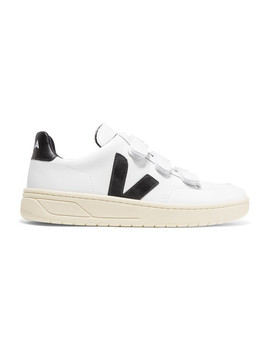 V Lock Leather Sneakers by Veja