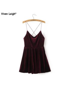 Brand New Women Playsuit Sexy Flare Velvet Spaghetti Strape Romper Urban Outfitters Pleated Shorts by Viven Leigh