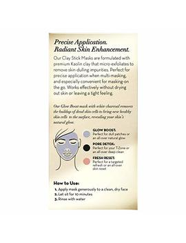Face Masks By Olay, Clay Charcoal Facial Mask Stick, Glow Boost White Charcoal, 1.7 Oz by Olay