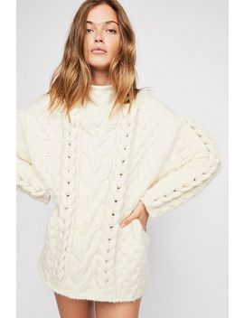 Braided Cable Pullover Jumper by Free People