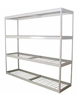 Safe Racks Freestanding Shelf | Steel Shelving Unit | 2'd X 8'w X 7't by Safe Racks