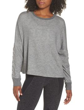 Laced Sleeve Pullover by Beyond Yoga