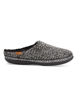 Black And White Sweater Knit Women's Ivy Slippers by Toms