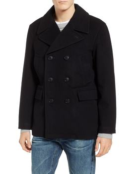 Maritime Wool Blend Peacoat by Pendleton
