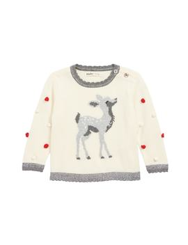 Intarsia Fawn Knit Sweater by Hatley