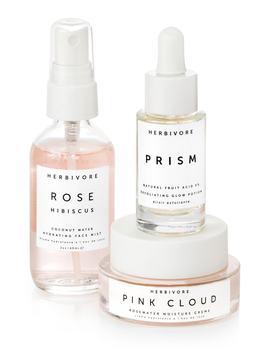 Rosewater Hydration Trio by Herbivore Botanicals