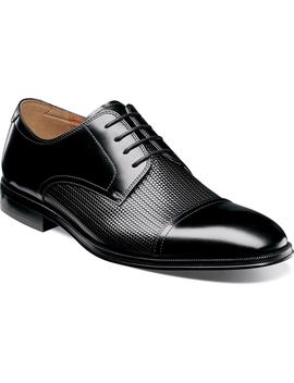 Belfast Embossed Cap Toe Derby by Florsheim