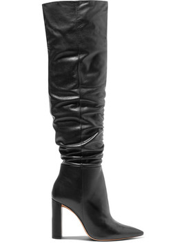 Anna Leather Knee Boots by Alexandre Birman
