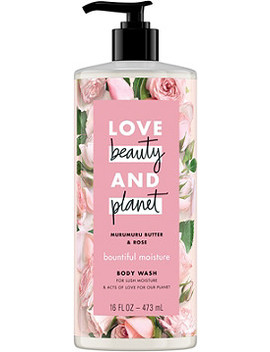 Murumuru Butter & Rose Bountiful Moisture Body Wash by Love Beauty And Planet