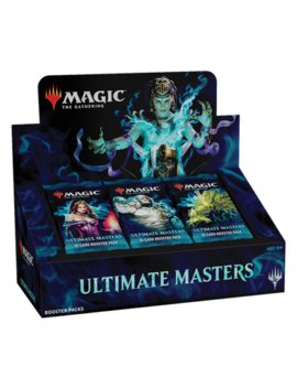 Mtg Ultimate Masters Booster Box   Brand New And Sealed   Includes Box Topper! by Magic The Gathering