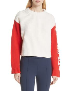 Crop Apres Ski Sweater by Tory Sport