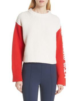Crop Apres Ski Sweater by Tory Sport