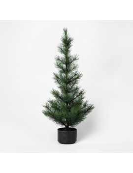 Faux Pine Tree In Black Stand   Project 62™ by Project 62