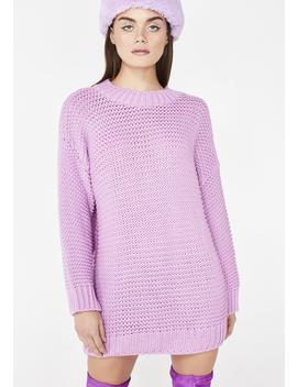 Kawaii Cutie Oversize Sweater by Glamorous
