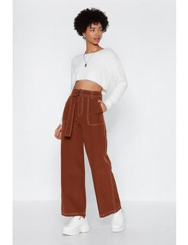 Right To Party High Waisted Pants by Nasty Gal