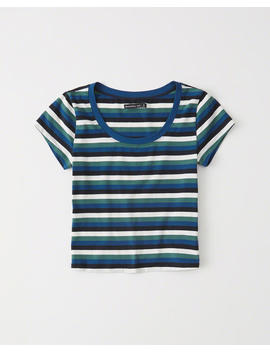 Slim Short Sleeve Tee by Abercrombie & Fitch
