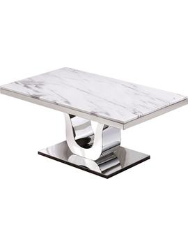 Best Quality Furniture Genuine White Marble Table by Generic