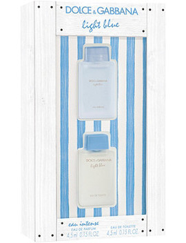 Light Blue Miniature Gift Set by Dolce&Gabbana