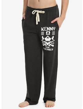 New Japan Pro Wrestling Bullet Club Kenny The Cleaner Omega Guys Pajama Pants by Hot Topic