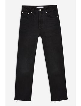 Washed Black Editor Jeans by Topshop