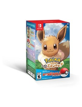 Pokemon: Let's Go Eevee! Poke Ball Plus Bundle   Nintendo Switch by Nintendo