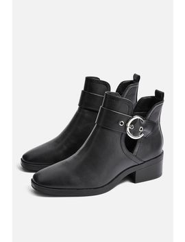 Kem Cut Out Ankle Boots by Topshop