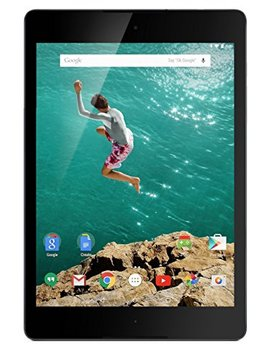 Google Nexus 9 Tablet 8.9 Inch, 16 Gb, Black, Wi Fi (Certified Refurbished) by Htc
